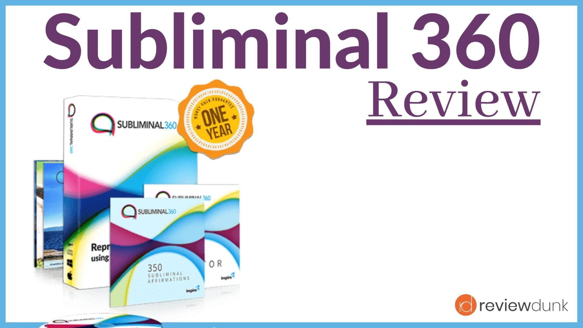 Subliminal 360 Review